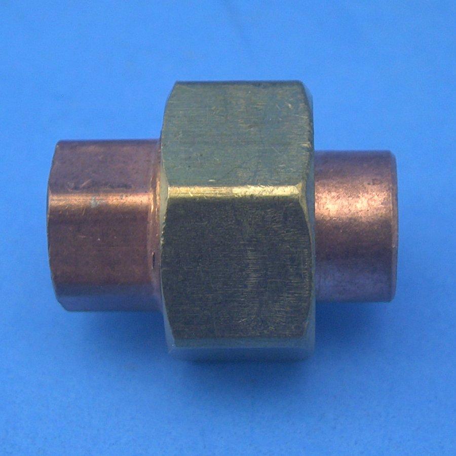 K d nibco quot copper union cl w cxc solder slip